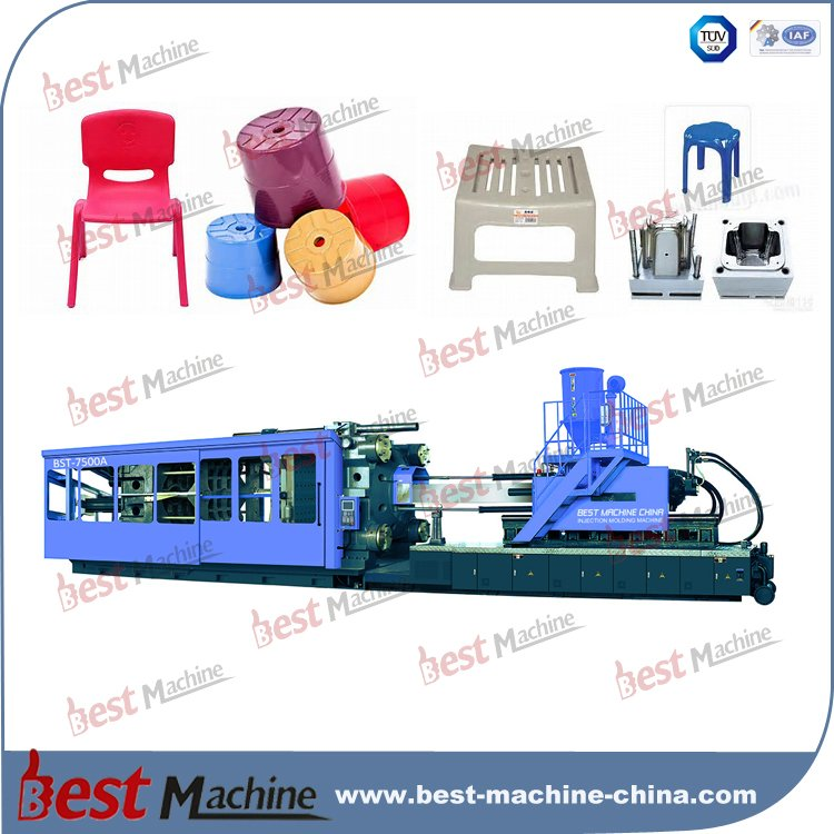 BST-7500A plastic stool injection molding machine