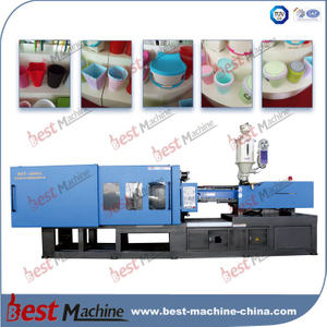 BST-4500A plastic trash can injection molding machine
