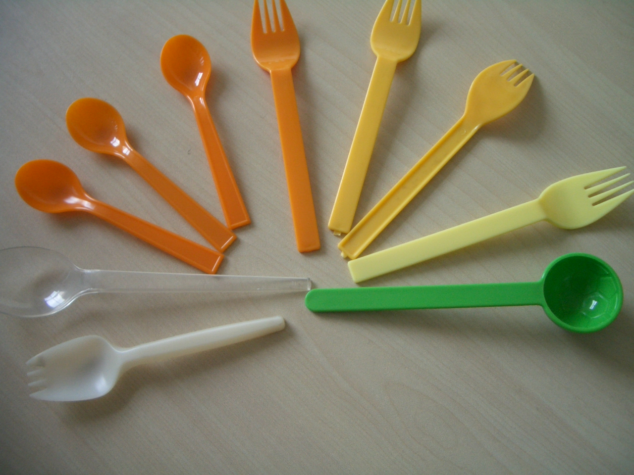 Knife, fork, spoon mould